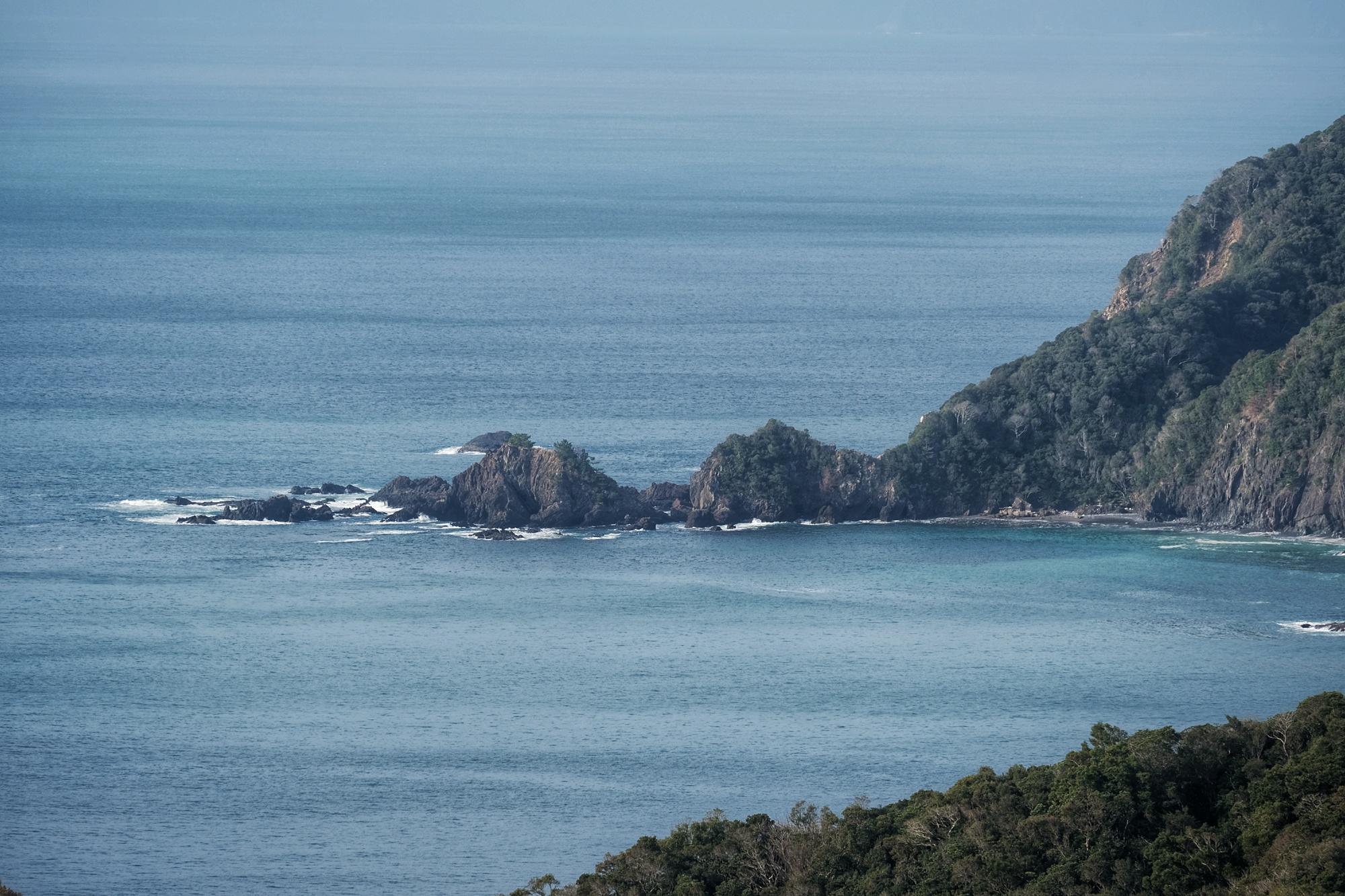 Littoral de l'océan Pacifique sur l'île de Shikoku