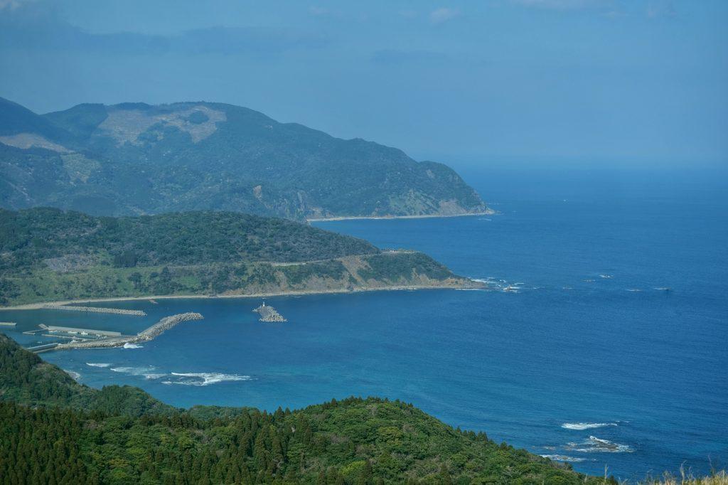 Le littoral proche du cap Toi