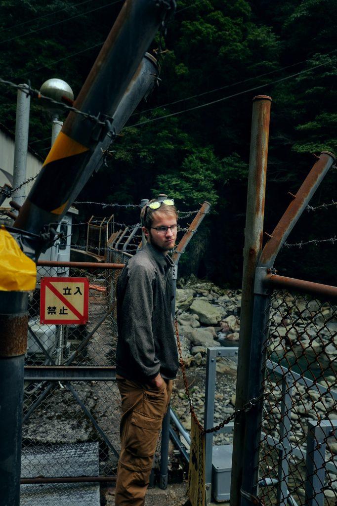 Passage fermé au niveau des chutes de Tengaki