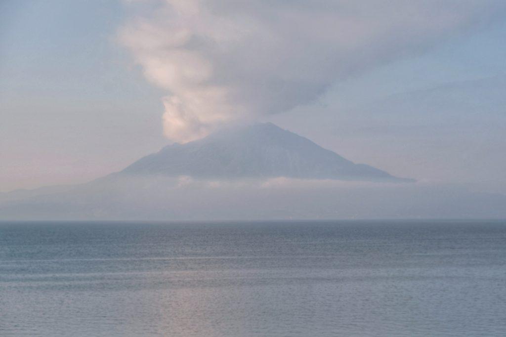 Le Sakurajima, comme dans un rêve