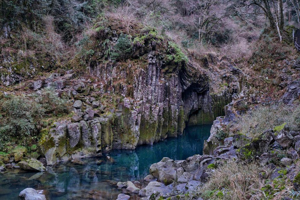La rivière des gorges de Takachiho