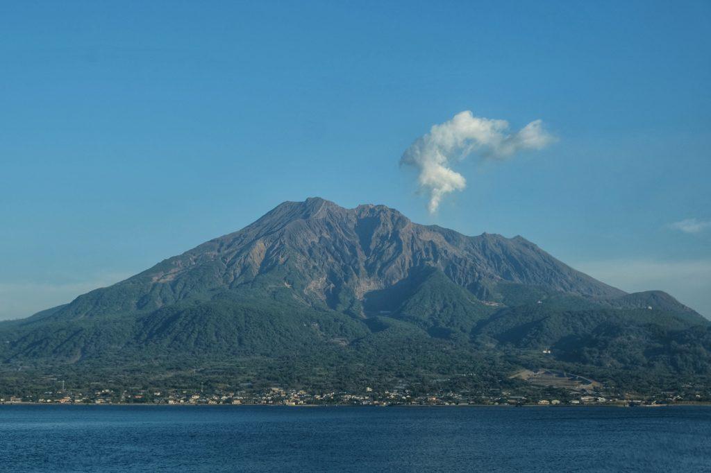 Le Sakurajima est toujours (au moins un peu) en activité