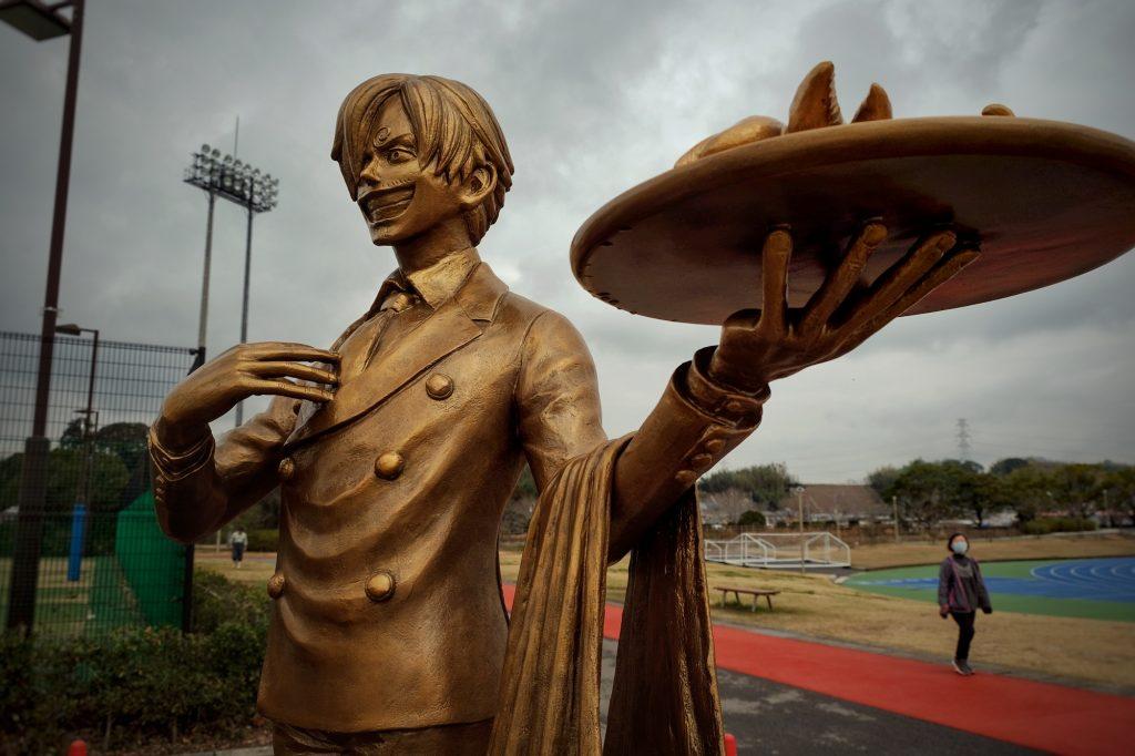 Statue de Sanji
