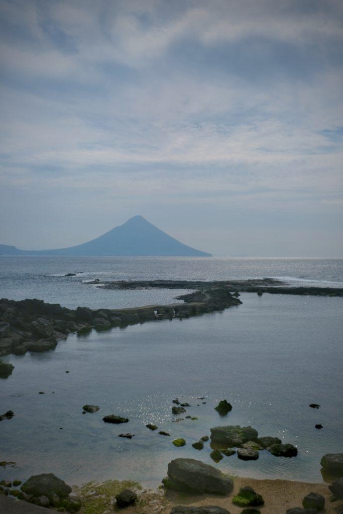 Le mont Kaimon, ou Satsuma Fuji