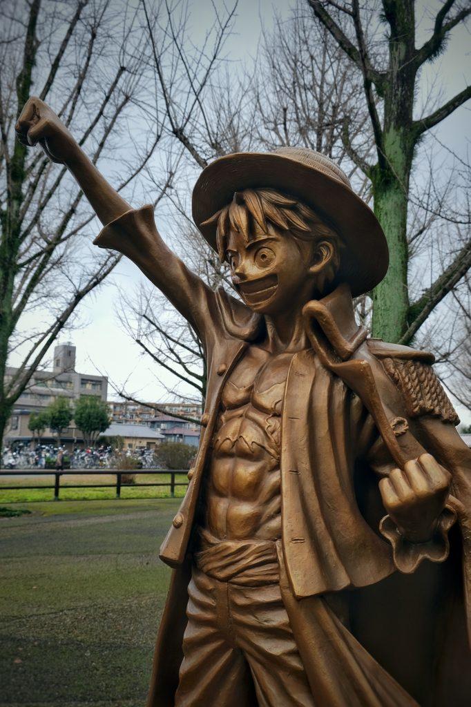 Statue de Luffy