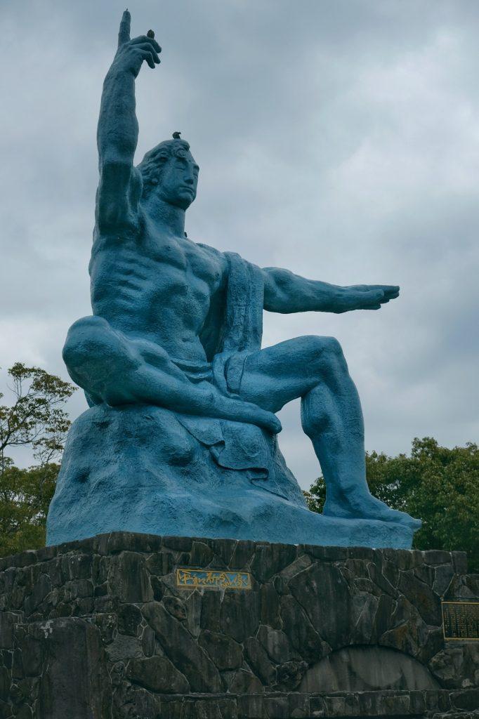 Statue du parc de la Paix à Nagasaki
