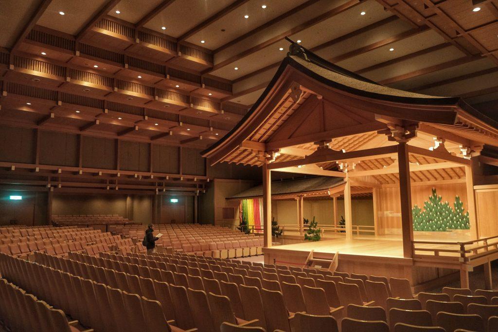 La salle du théâtre Nogakudo de Nagoya