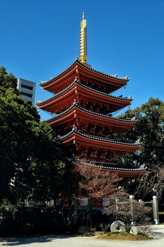 Pagode du Tochogi à Fukuoka