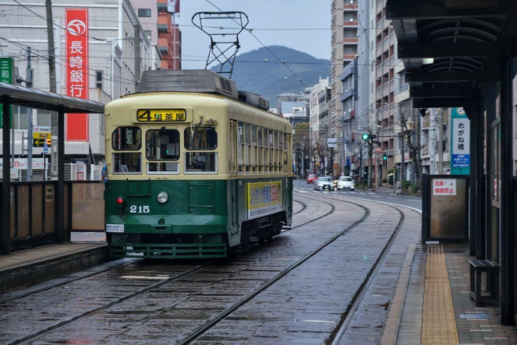 Le tram de Nagasaki
