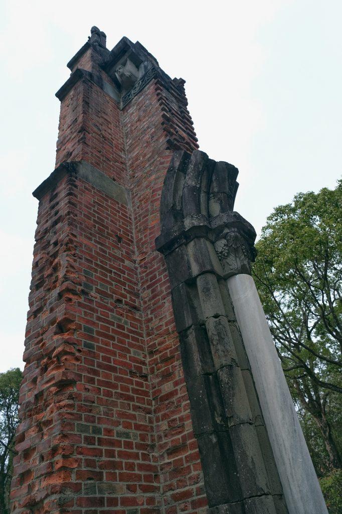 Ruine de la cathédrale Urakami à Nagasaki