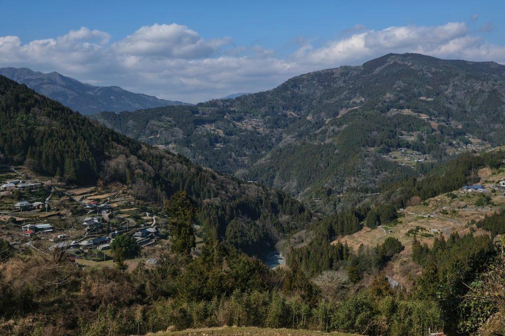 La vallée de Sagayama sur le chemin de notre camping