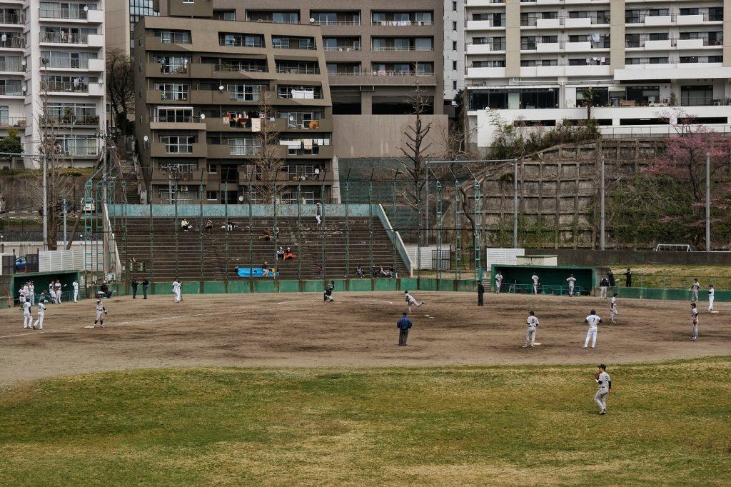 Match de baseball à Sendai