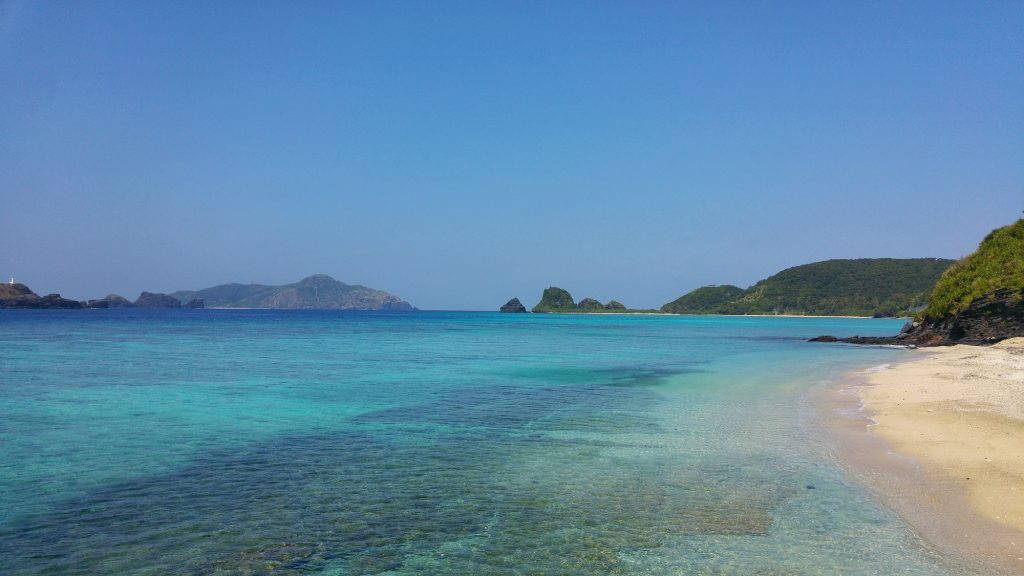 Plage d'Ama sur l'île de Zamami